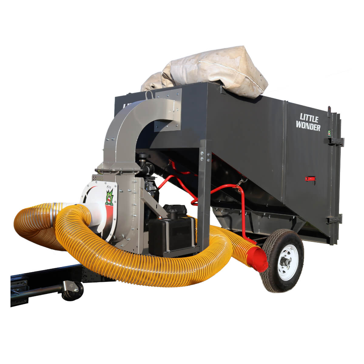 29hp 5 Yard Gravity Dump Self Contained Truckloader Little Wonder Double Trailer Wiring Harness Ground Agvac 5s Agricultural Vacuum